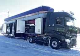 Transport spécialisé en porte voiture confidentiel par Marchal Technologies