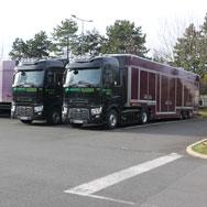 Camion porte voiture confidentiel fermé - Marchal Technologie