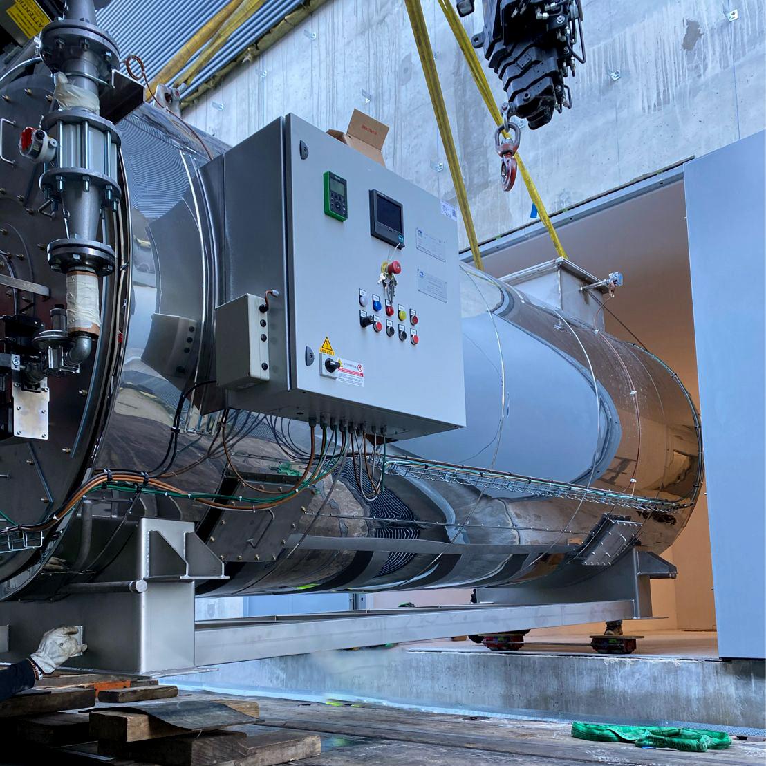 Manutention lourde, levage, grutage d'équipement pour l'énergie par STMO