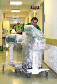 Transfert de matériel de blocs opératoires Groupe BOVIS