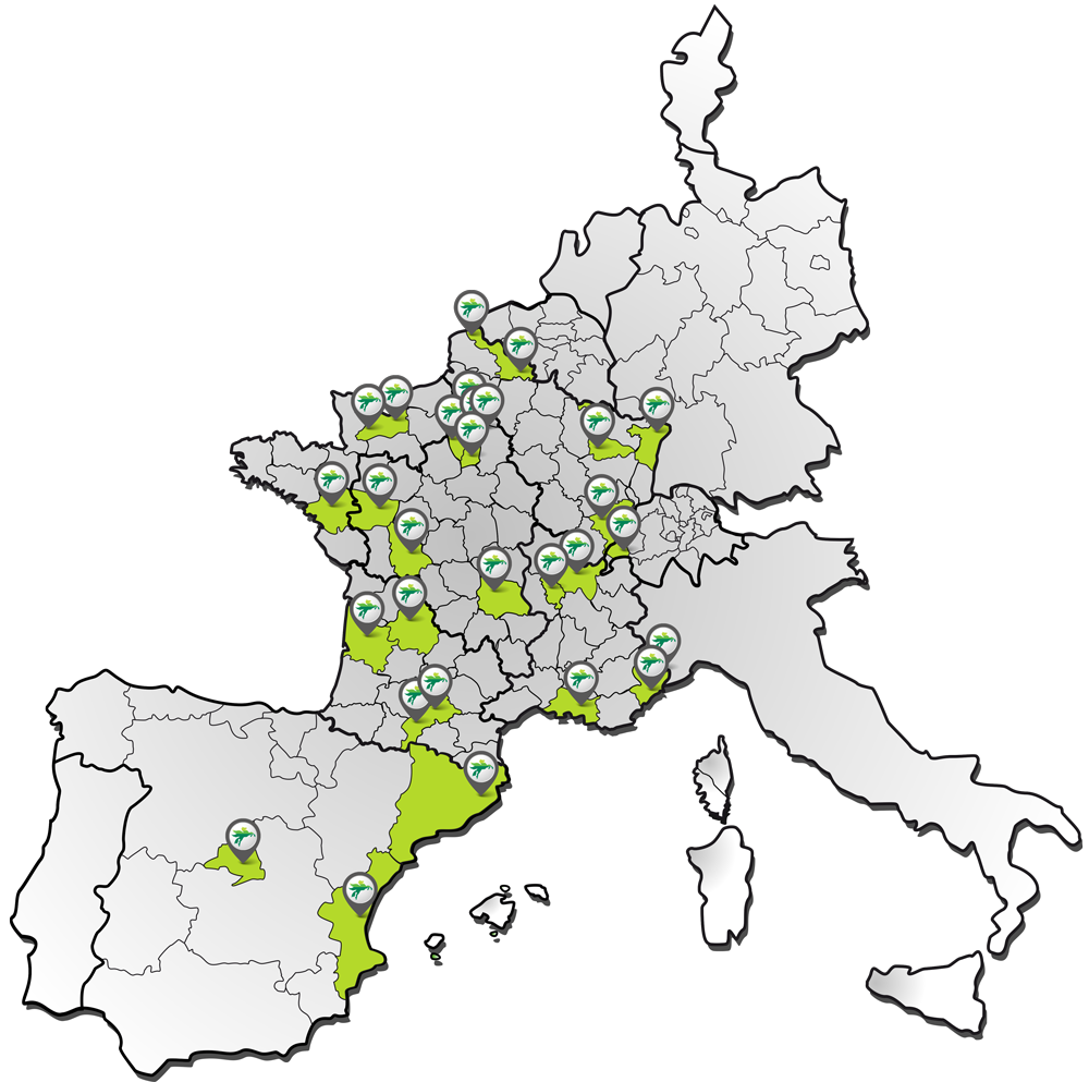 Agences Groupe BOVIS en Europe