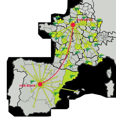 Hub logistique Bouches du Rhône BOVIS