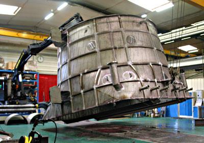 Manutention transfert industriel Bouches du Rhône