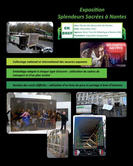 Nov 12 exposition splendeurs sacr es au mus e des beaux arts de nantes nos actualit s - Magasin beaux arts nantes ...
